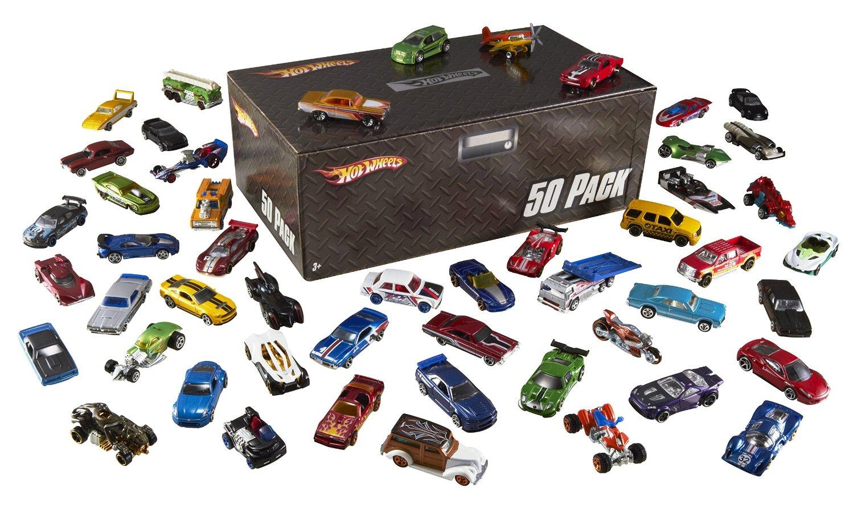 50-Pack Hot Wheels Basic Car  $28 + Free Shipping