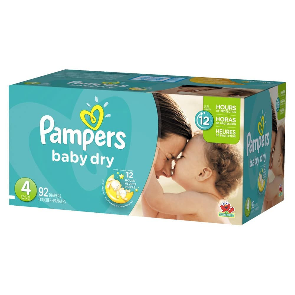 Target: $50 Gift Card w/ $250 Purchase of Baby Item: 12-Boxes Pampers Baby Dry Diapers Super Pack + $110 Target Gift Card $255 & More + Free Shipping