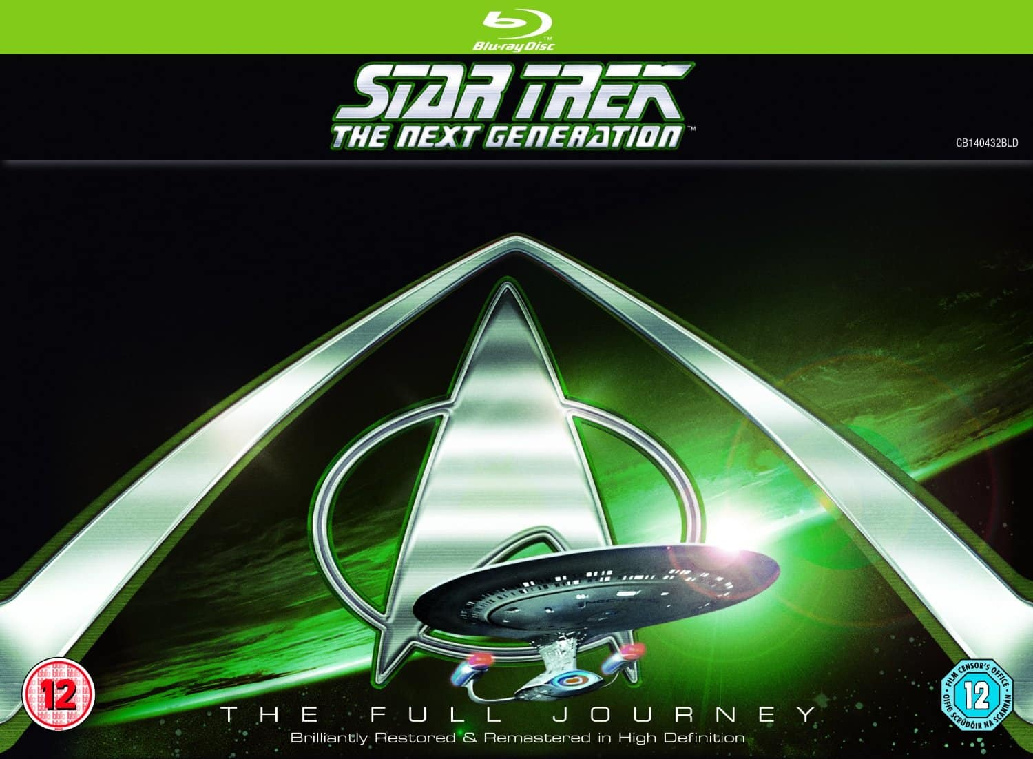 Star Trek: The Next Generation Complete Seasons 1-7 (Blu-ray) $96.33 Shipped