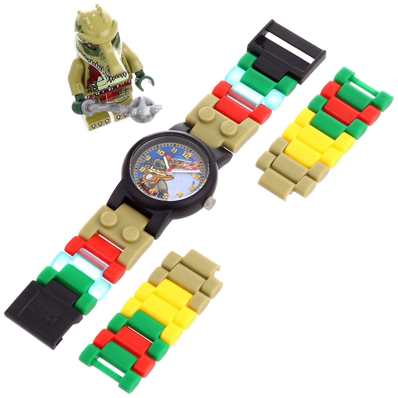 LEGO Kids' Legends of Chima Crawley Watch w/ Minifigure  $15 & More