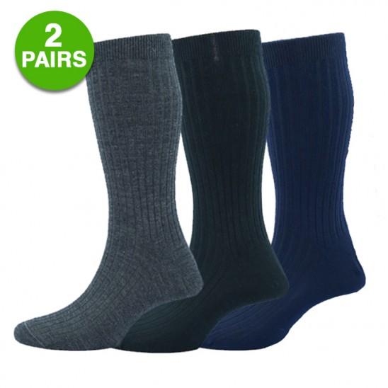 2-Pairs Merino Wool Blend Winter Thermal Insulated Socks  $5 + Free Shipping