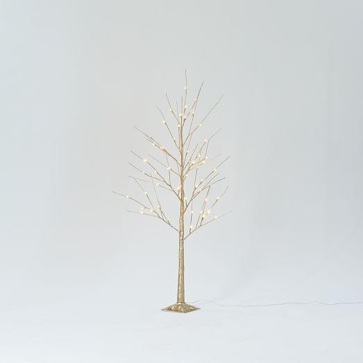 5' LED Tree (Gold) or 6' LED Tree (Ivory)  $29 + Free Shipping