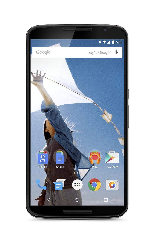 Motorola Nexus 6 Unlocked Smartphone: 64GB $300, 32GB  $250 + Free Shipping