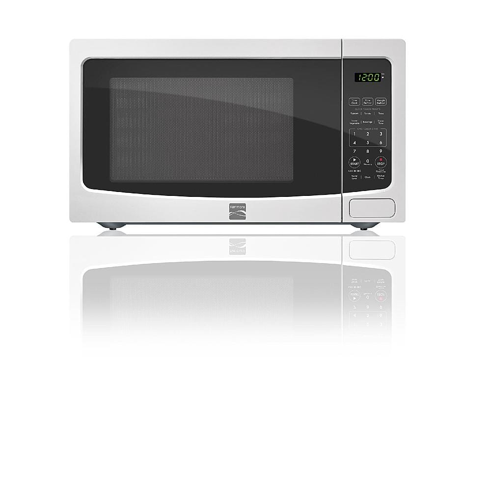 Kenmore 1.1 cu. ft. Countertop Microwave, White 1100wt  $60