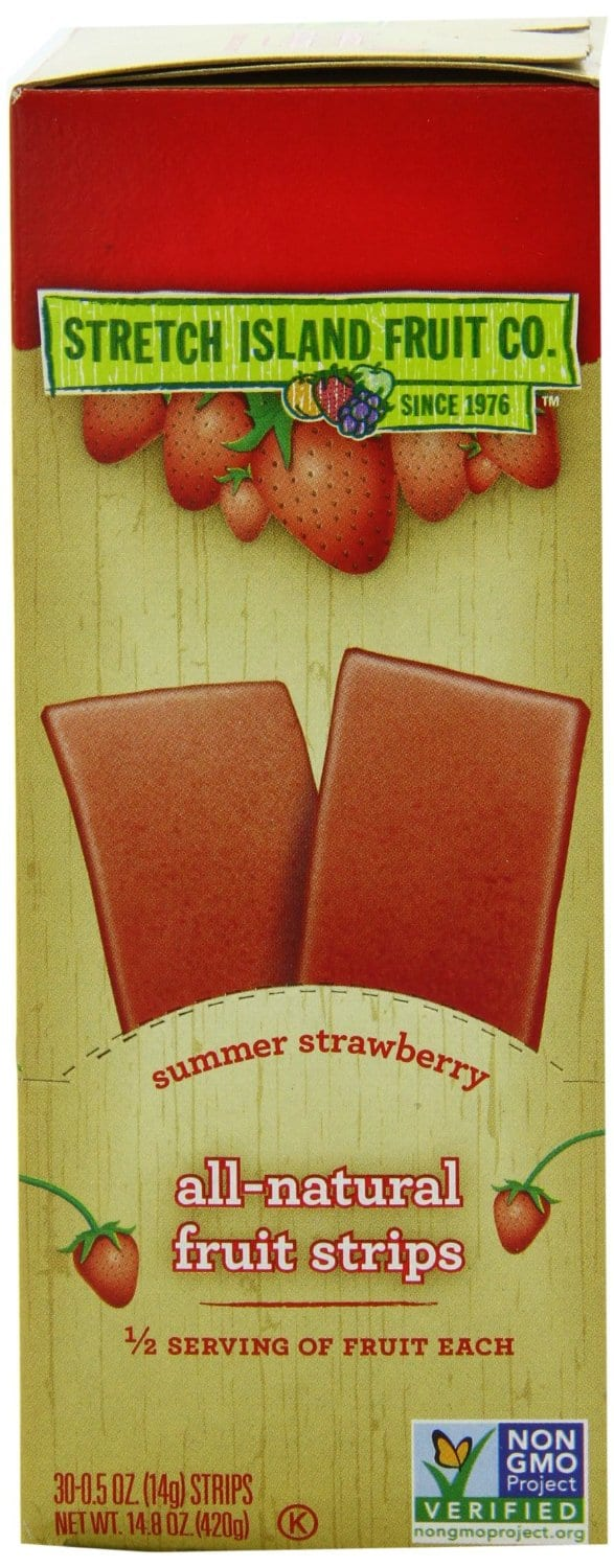 Stretch Island Original Fruit Leather, Summer Strawberry, 0.5-Ounce Bars (Pack of 30) $8.33 AC & S&S