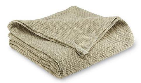 Metaphor Waffle Knit Blanket (Beige & Tan or Blue): King $8.97, Full/Queen $6.97 or Twin $5.97 + Free Store Pickup ~ Sears *YMMV*