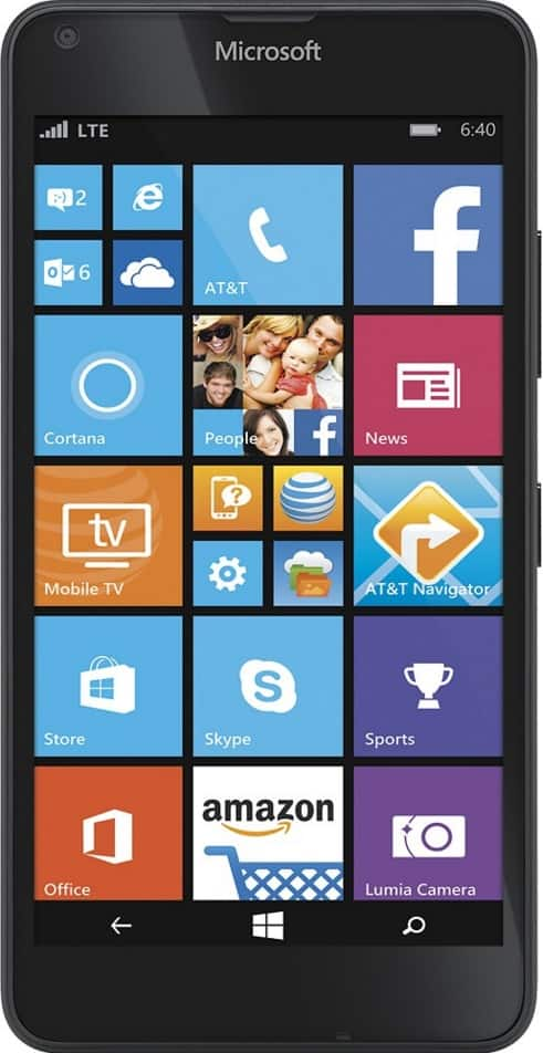 AT&T GoPhone Nokia Lumia 640 for $29.99 at Bestbuy.com