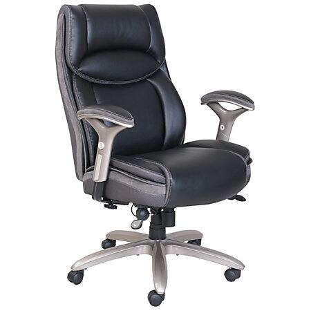Serta Smart Layers Jennings Super Task Big & Tall Chair (black/slate) $165 + Tax + Free Store Pick-Up