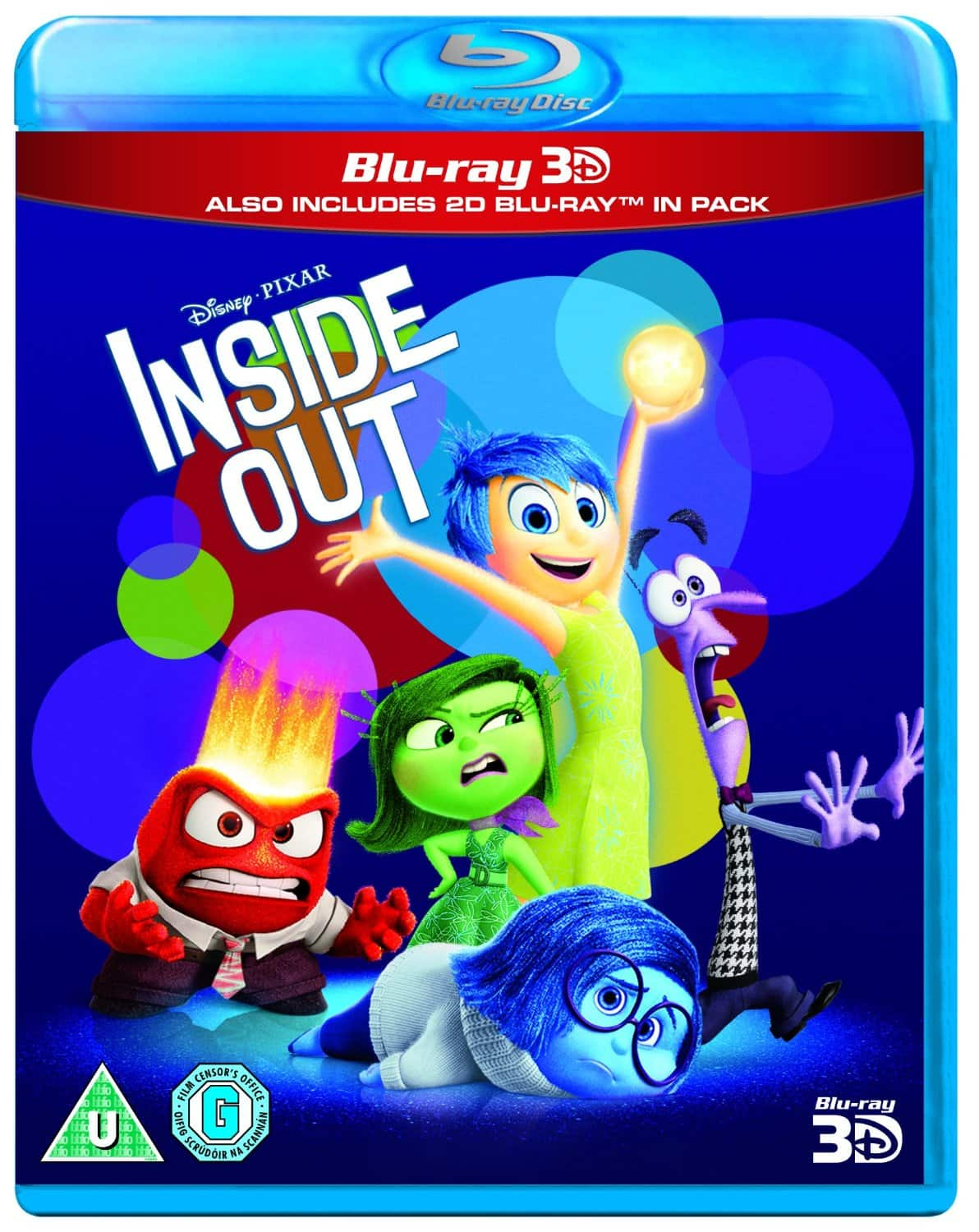 Region Free: 3D Disney Blu-ray Buy One Get One Free: Inside Out 3D + Big Hero 6 3D $25 Shipped & More