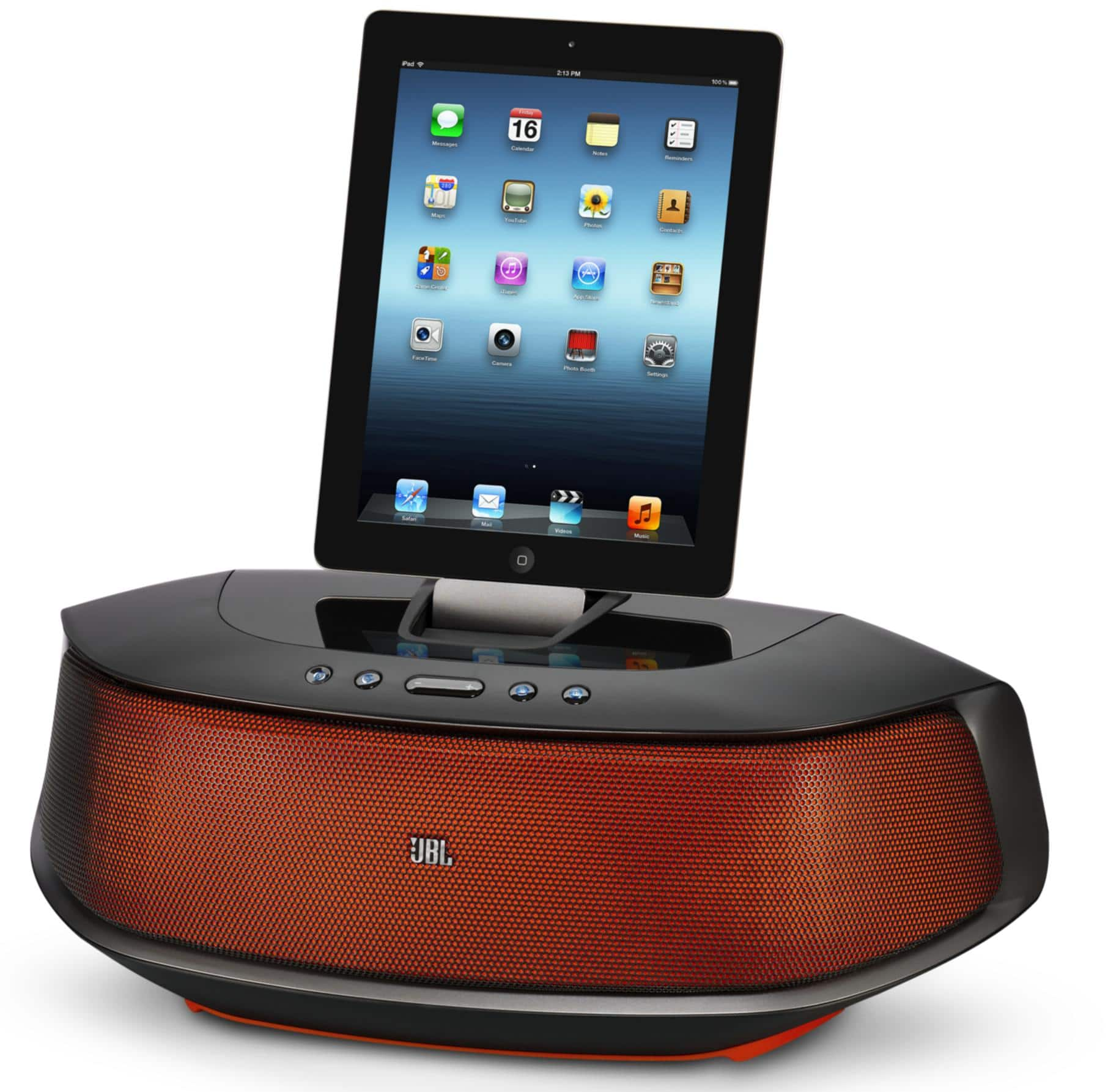 JBL OnBeat Rumble, Powerful Bluetooth Speaker Dock with Lightening Connector $125 + Free Shipping!