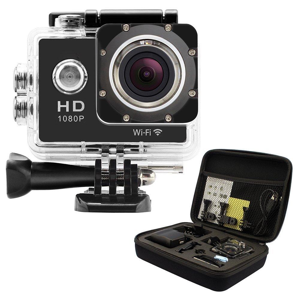 GeekPro Pro 1 WIFI 12MP HP 1080P Sports Camera Bundle - $30.10 + Free Shipping