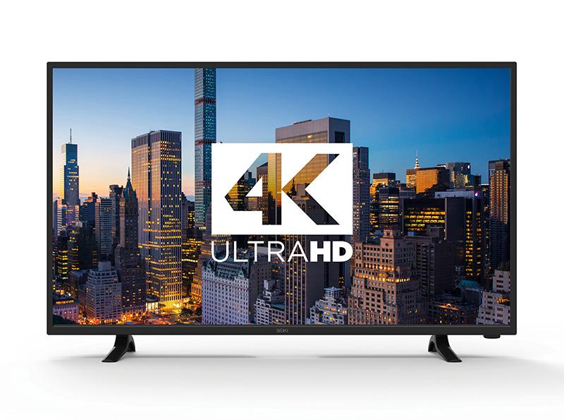 """Seiki 42"""" 4K UltraHD LED TV 60Hz $249 free ship @ BJs"""