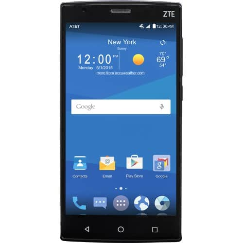 ATT Go Phone  ZTE Zmax 2 4G with 16GB Memory No-Contract Cell Phone - Black $79.99 at Best Buy