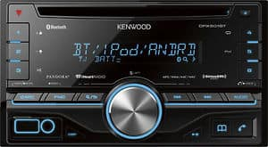 Kenwood Double Din CD Receiver w/ Built in Bluetooth  $80 + Free Shipping
