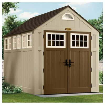 Suncast Alpine Storage Resin Shed (7.5' x 10.5')  $879 + Free Store Pickup