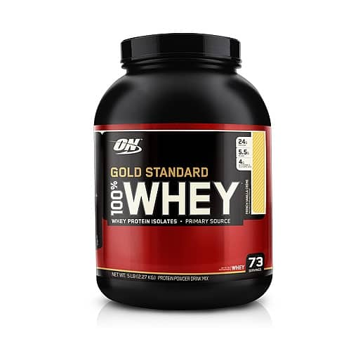 Optimum Nutrition (ON) Protein Powder - 10 lbs Any Flavor - $85 ($80 with Shoprunner) - Today Only