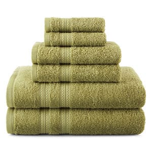 """Home Expressions Solid Bath Towels: 5 for $15 + free """"same day"""" pickup at JCPenney ($3 each when you buy 5)"""
