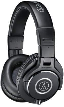 Audio-Technica ATH-M40x Professional Headphones and Fiio Amplifier Combo for $82 on buydig