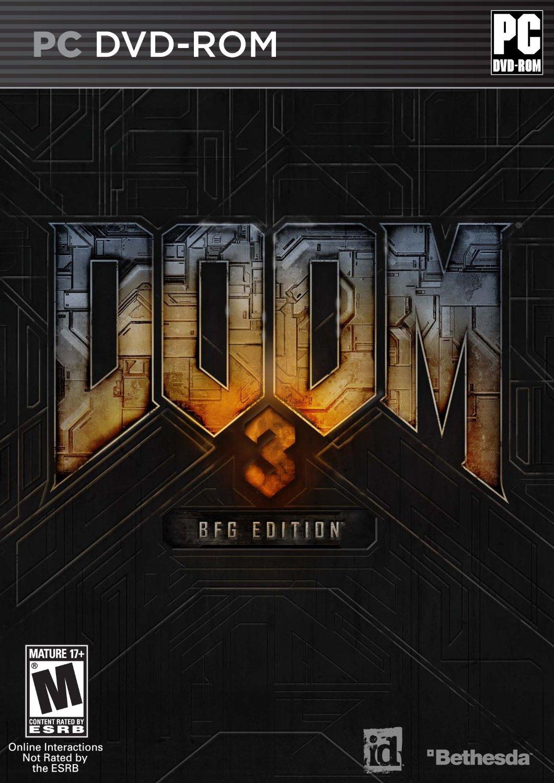 Doom 3 BFG Edition (PC DVD) $3 + Free Shipping from Amazon