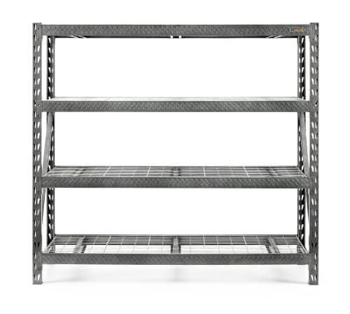 """Gladiator 77"""" 4-shelf rack 8000lb-cap $149.99 and 24"""" GearBox $99.99, free store pickup + $10 SYW points"""