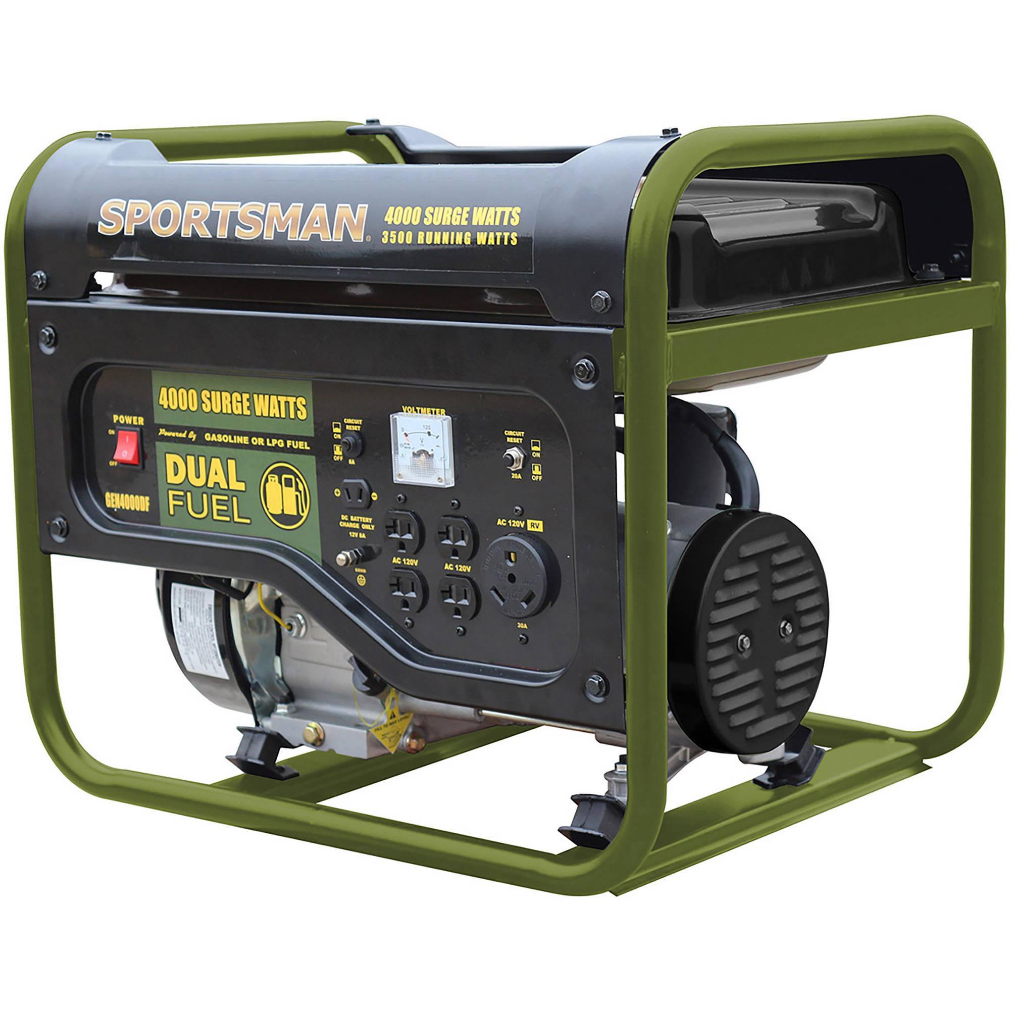 Sportsman GEN4000DF 4000W Dual Fuel Powered Portable Generator  $230 + Free Shipping