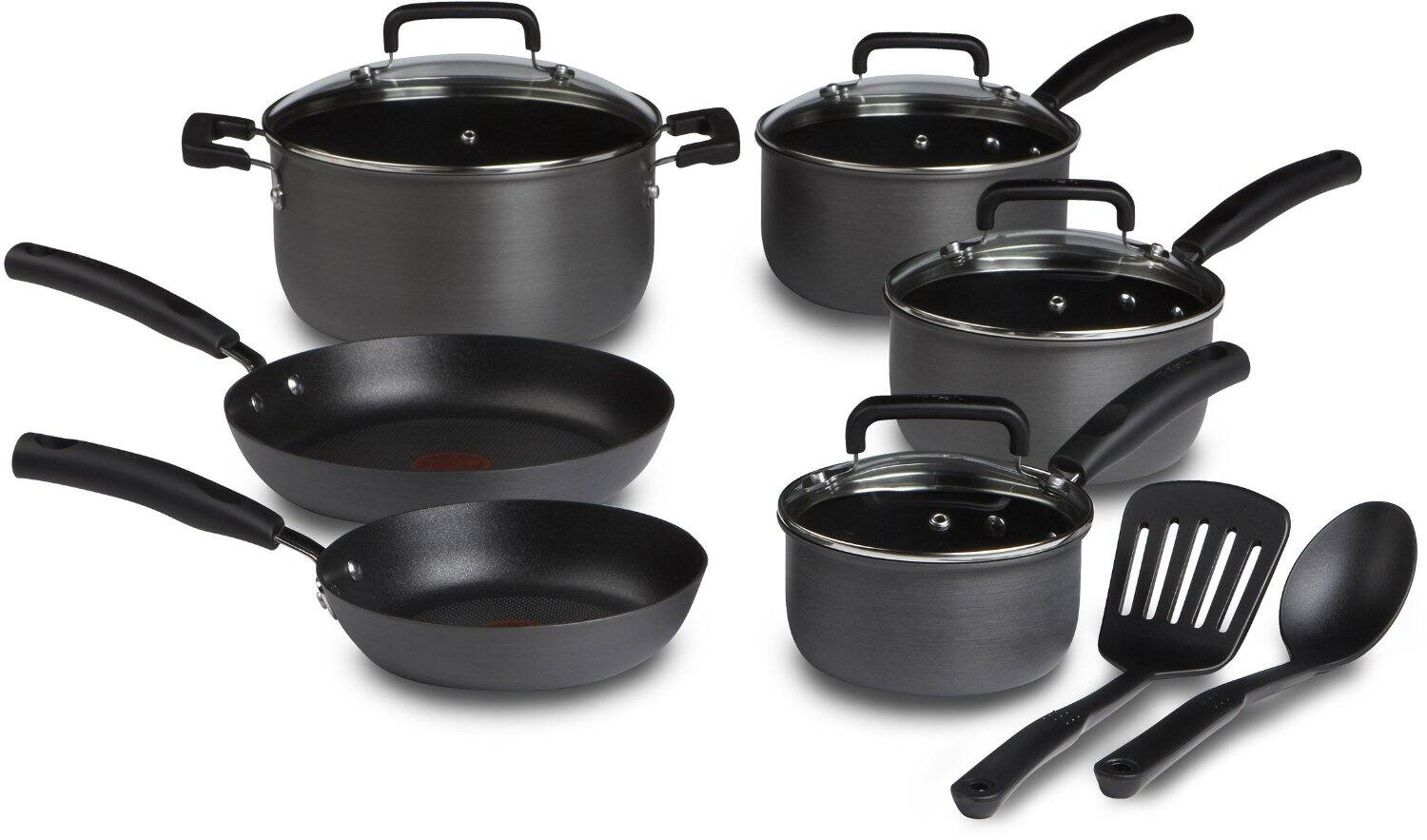 12-Piece T-fal Signature Hard Anodized Nonstick Thermo-Spot Cookware Set  $52 + Free Shipping