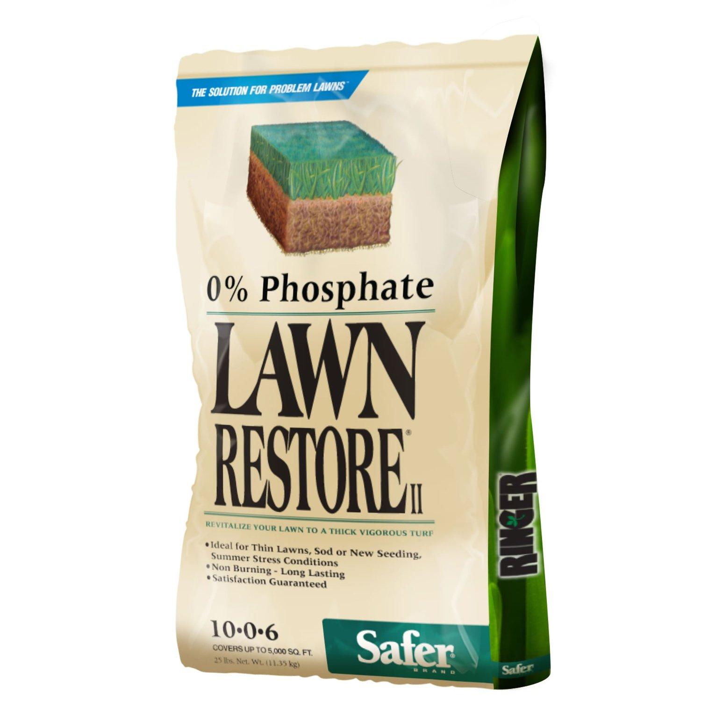 25lbs Safer Brand Ringer Lawn Fertilizer  $24