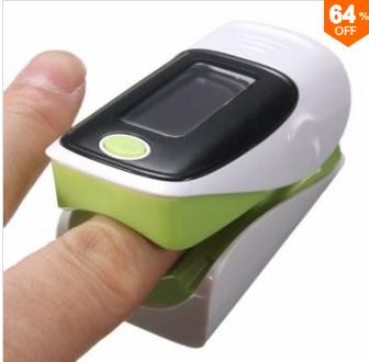 OLED Pulse Finger Fingertip Oximeter $9 + Free Shipping!