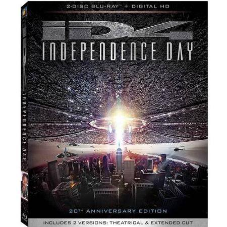 Independence Day: 20th Anniversary Edition Pre-order (Blu-ray) w/ Movie Money $9.96 + Free Store Pickup @ Walmart