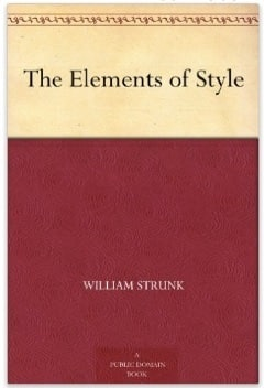 The elements of style = free (Kindle eBook)