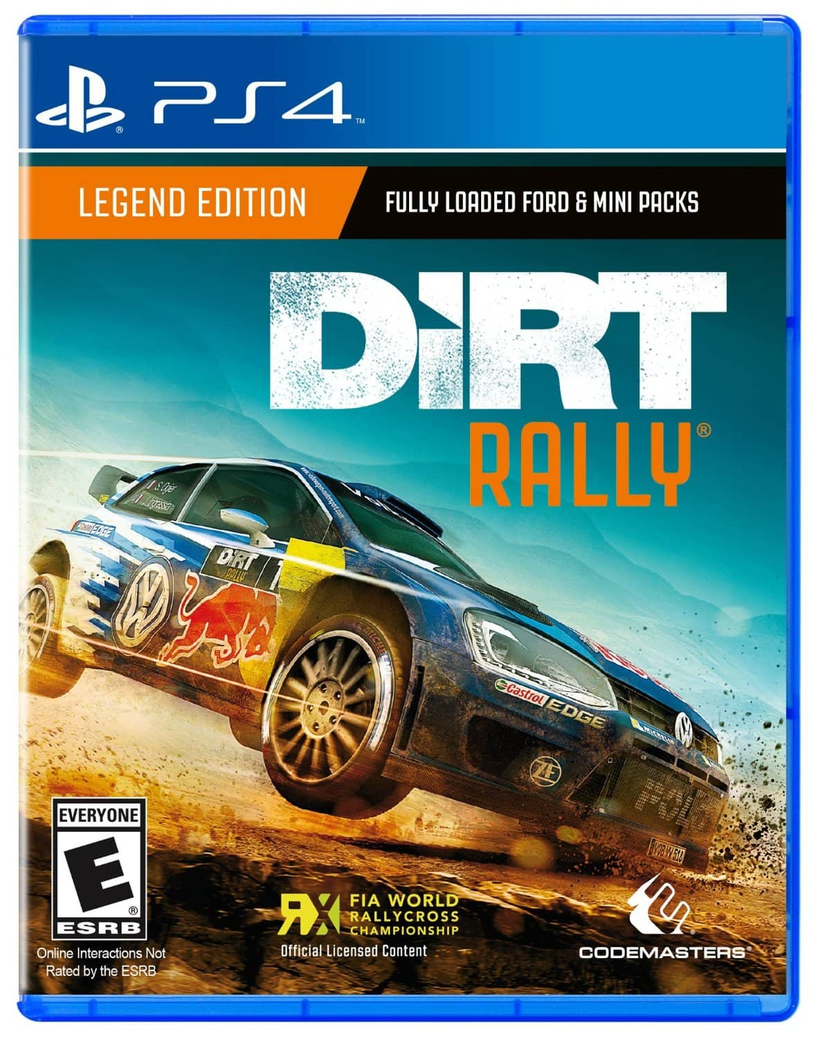 DiRT Rally (PS4 or Xbox One) $44.99 via Amazon
