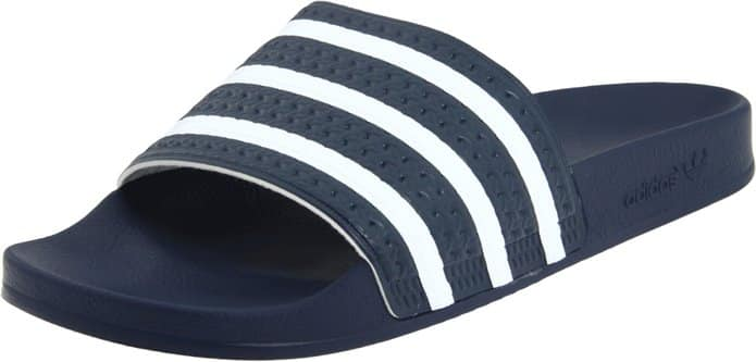 Adidas Originals Men's Adilette Slide Sandal (Size 12, 13 or 14)  From $10.30