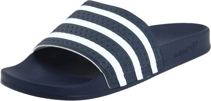 Adidas Originals Men's Adilette Slide Sandal (Size 12, 13 or 14)  From $10.30