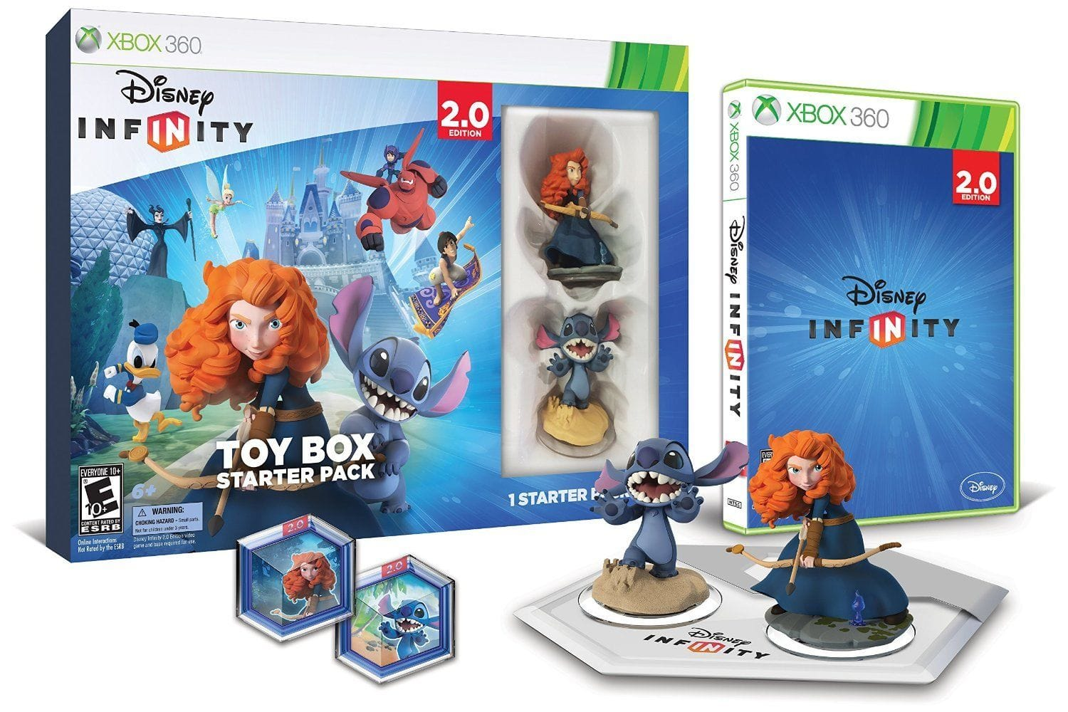 Disney Infinity 2.0 Toy Box Starter Pack for Xbox 360 - $8 w/free shipping Microsoft Store