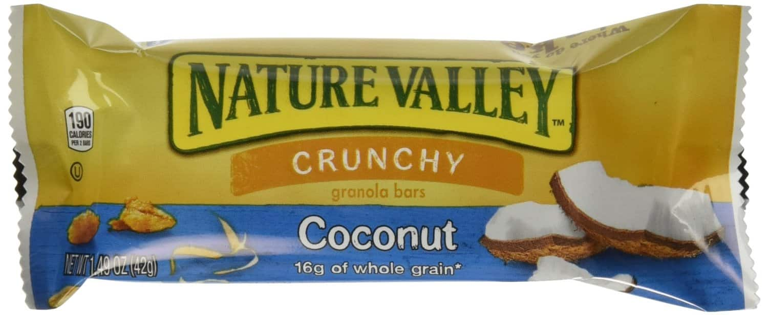 Nature Valley Crunchy Granola Bar, Coconut, 1.49OZ , 6 count $1.93 AC with S&S
