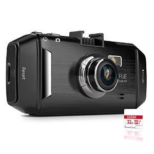 "Vantrue R2 Dash Cam 2K Ultra HD 2.7"" LCD DVR Recorder + 32GB MicroSD Card  $100 + Free Shipping"