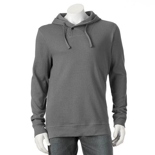 Kohl's Cardholders: Men's Croft & Barrow Hooded Shawl-Collar Pullover  $7.85 + Free S&H