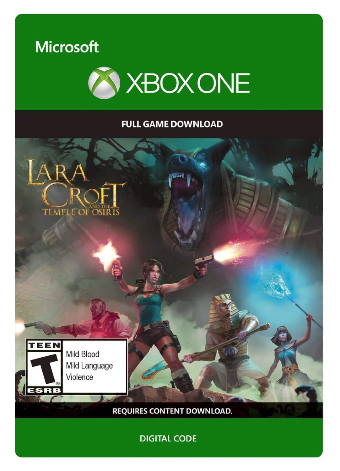 Xbox One Digital Game Download: Lara Croft and the Temple of Osiris $5.00 from Amazon