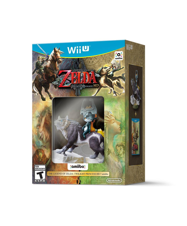 The Legend of Zelda: Twilight Princess HD w/ Midna amiibo (Wii U)  $39.70
