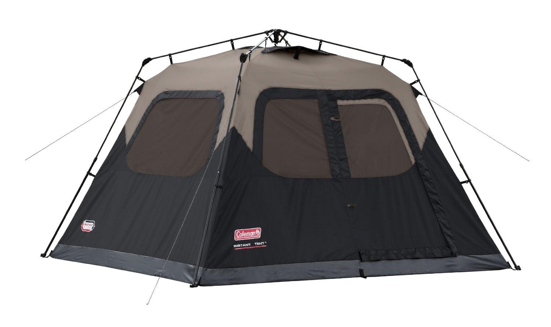 Coleman 6 Person Instant Tent - $100 Amazon