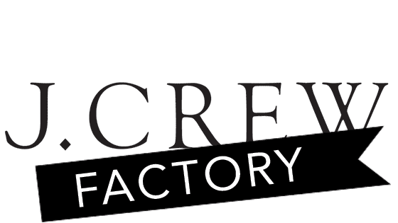 Today - J.Crew Factory Store&Online - 50% off sale ahead of MW + extra 20% with coupon on +$100 orders