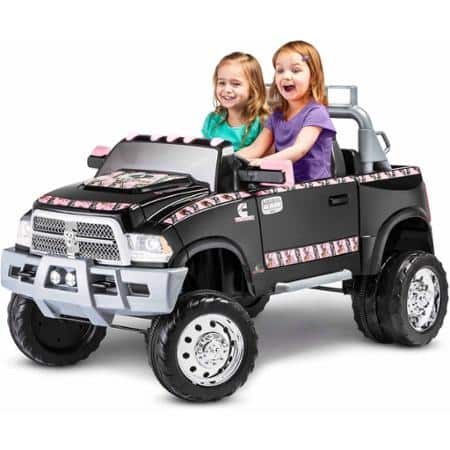 Dodge Ram Ride-On Car. 2-speed, 12V two-seater. $200