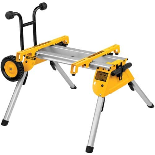 DeWalt DW7440RS Rolling Table Saw Stand  $125 + Free Shipping