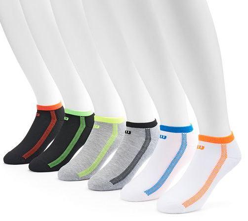 Kohls Cardholders: Men's Socks: 24-Pairs Wilson Socks + 3-Pairs Character Socks  $22.35 + Free Shipping