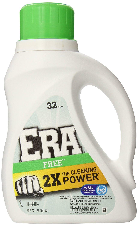 6-Pack of 50oz ERA 2x Ultra Free Liquid Detergent $17.40 @ Amazon