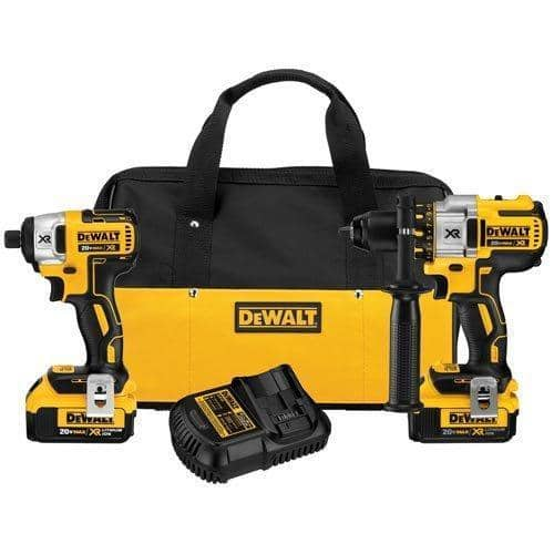 DeWalt 20V Brushless Hammer Drill and Impact Driver Combo Kit $230 + Free Shipping (eBay Daily Deal)
