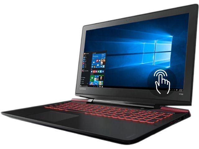 Lenovo IdeaPad Y700 Touch-15ISK Touchscreen Laptop (i7-6700HQ 16 GB 1TB + 8 GB SSHD, 4GB GTX 960M) $800