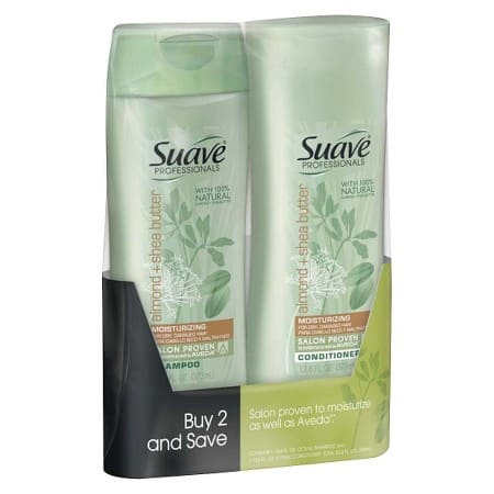8-Pack of 12.6oz Suave Professional Shampoo & Conditioner: Rosemary Mint or Almond/Shea Butter $11.52 + $5 Gift Card + Free Shipping Target.com