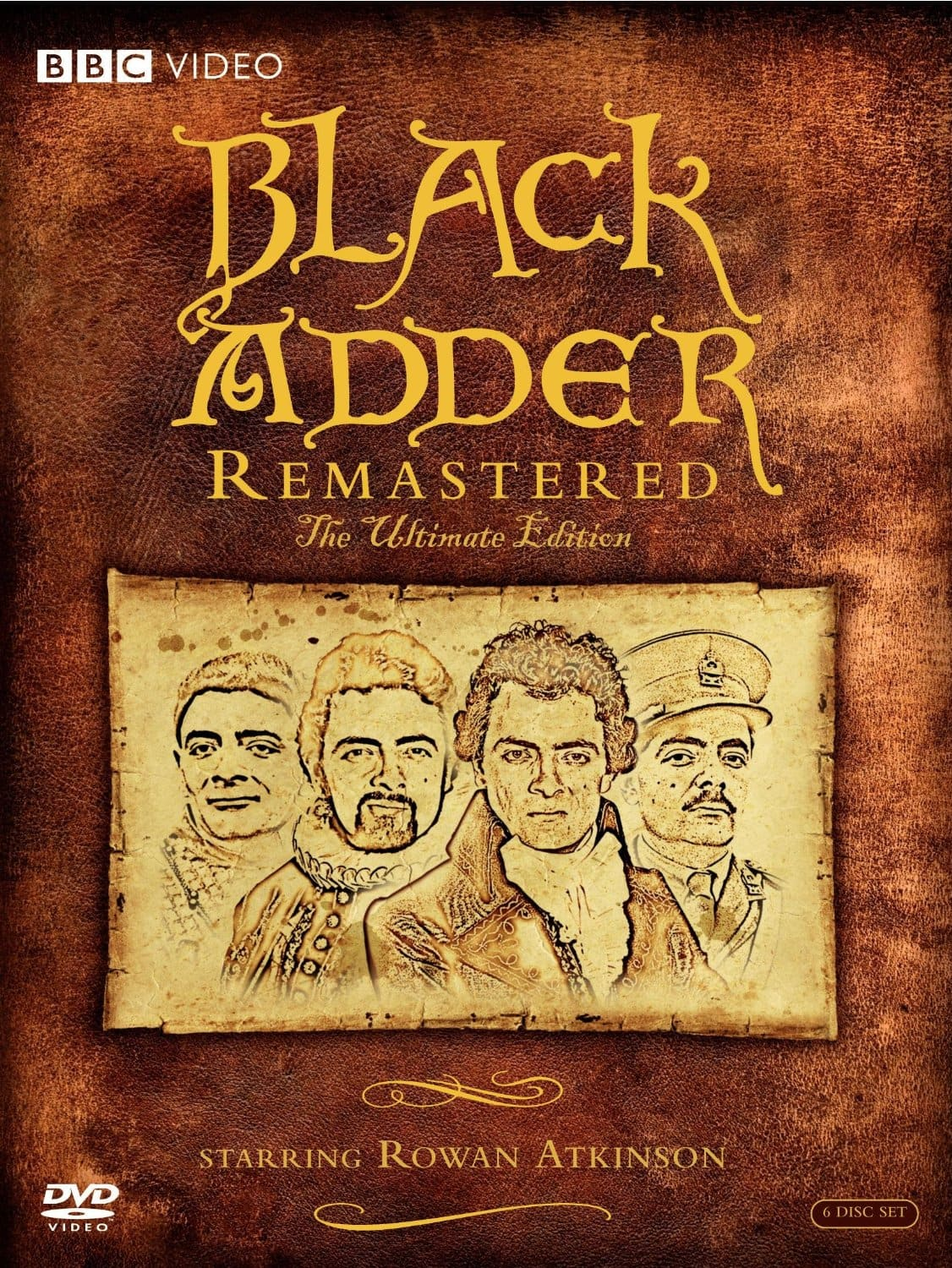 Black Adder: Remastered: The Ultimate Edition (DVD) $19.99 via Amazon