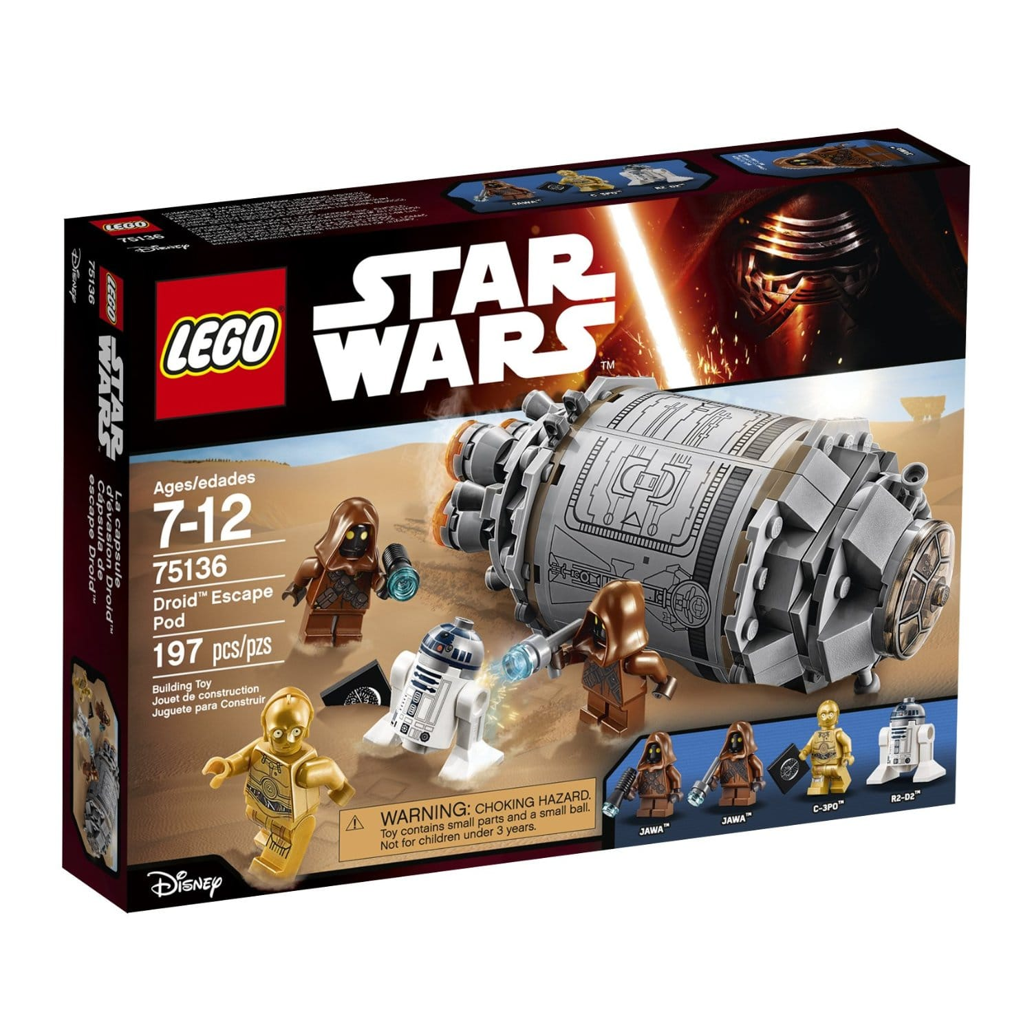 LEGO Star Wars: Carbon Freezing Chamber $21, Droid Escape Pod  $20 & More